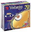 CD-R Verbatim 10pack slim colour 700MB